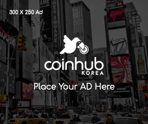 Advertisement of CoinHubKorea