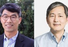 From left: Perry Ha of Draper Athena; Taehee Nam of Storm Ventures