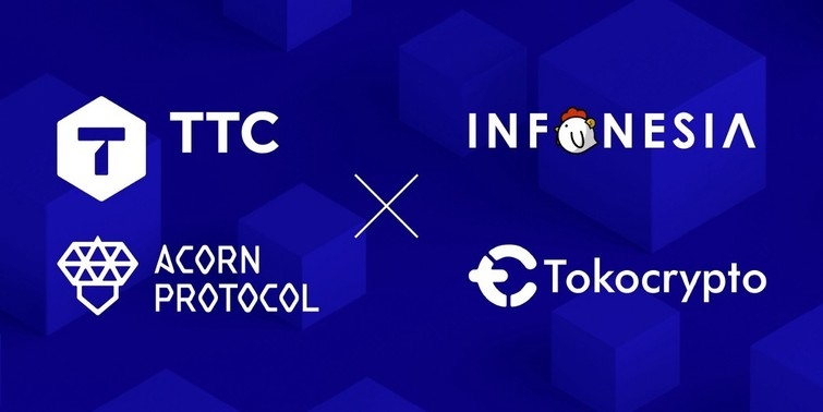 Infonesia formed the partnership with the TTC Protocol (Source of image = TTC Protocol Medium)